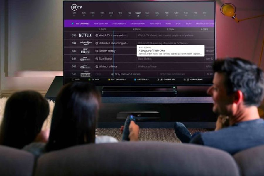 U.K. Pay-TV Operator BT Moving to Monthly Program Bundles