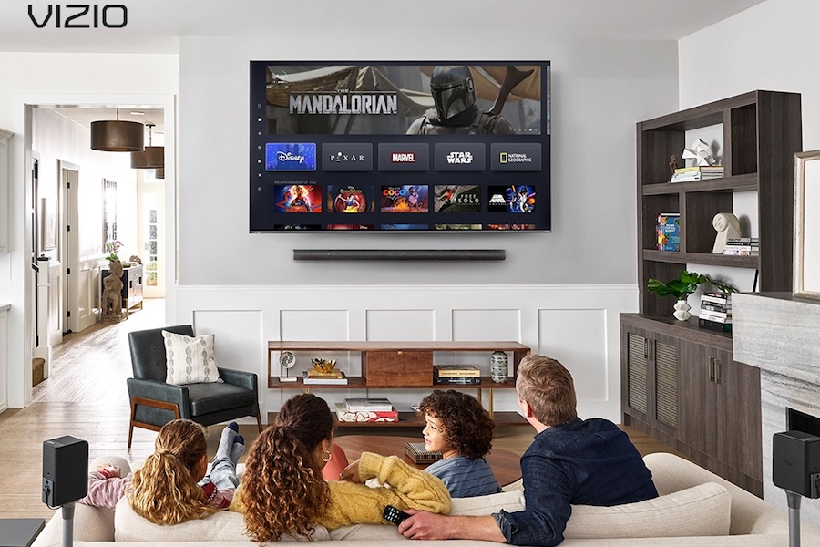 Vizio Adds Disney+ to SmartCast Smart TV Platform