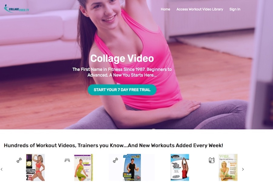BayView Entertainment Targets Exercise Fans With New Collagevideo.tv SVOD Service
