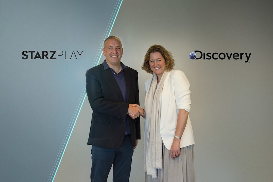 Discovery, StarzPlay Partner for SVOD Distribution