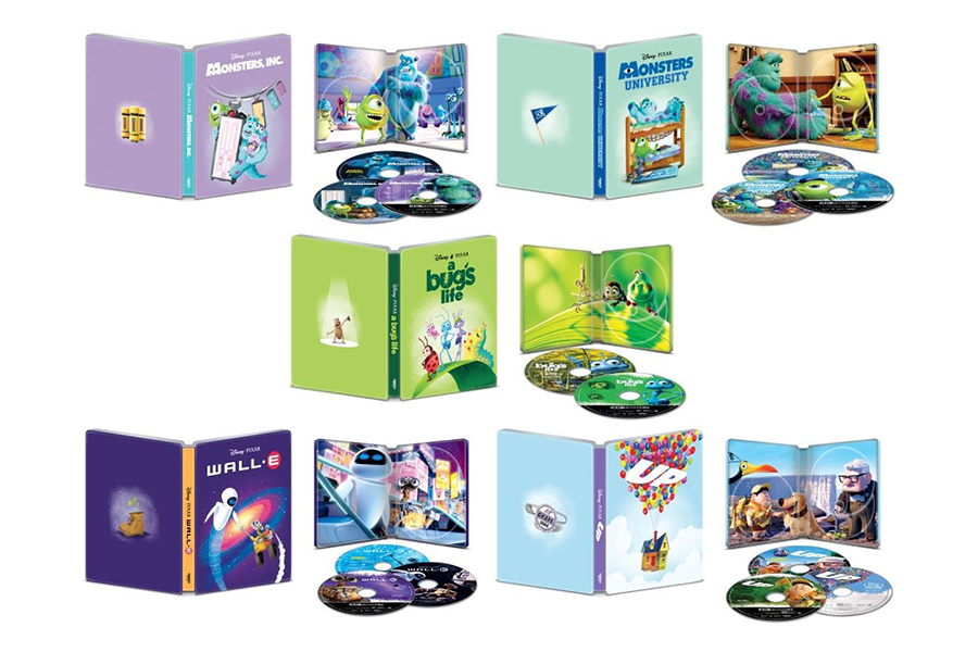 Merchandising: Best Buy Offers Steelbooks for Latest Pixar 4K Batch