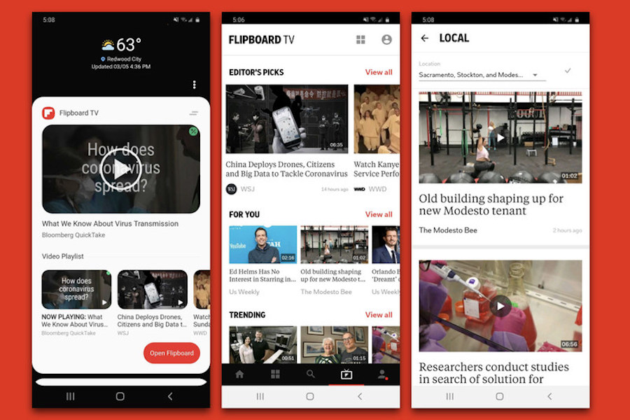 Print Goes Video in New Flipboard TV Streaming Service