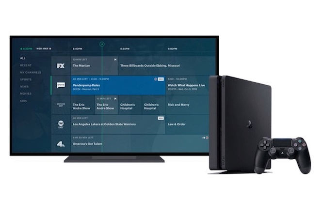 Hulu + Live TV Launches on PlayStation 4