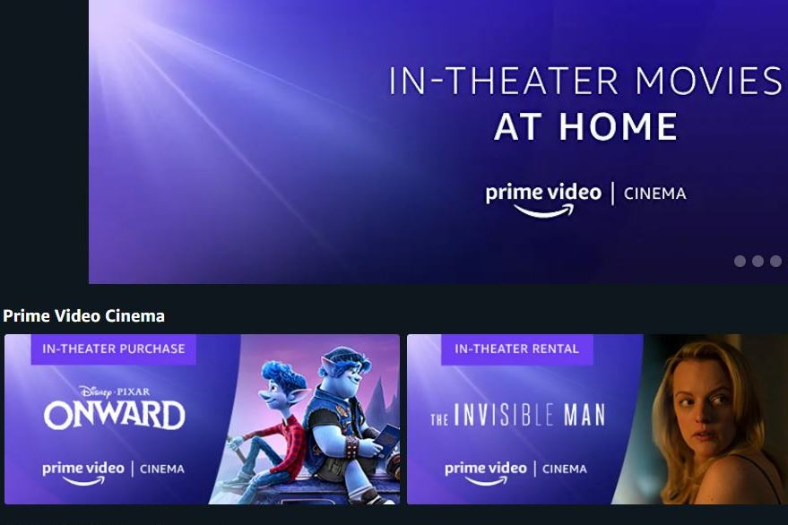 Amazon Launches 'Prime Cinema' for Early Digital Movie Releases
