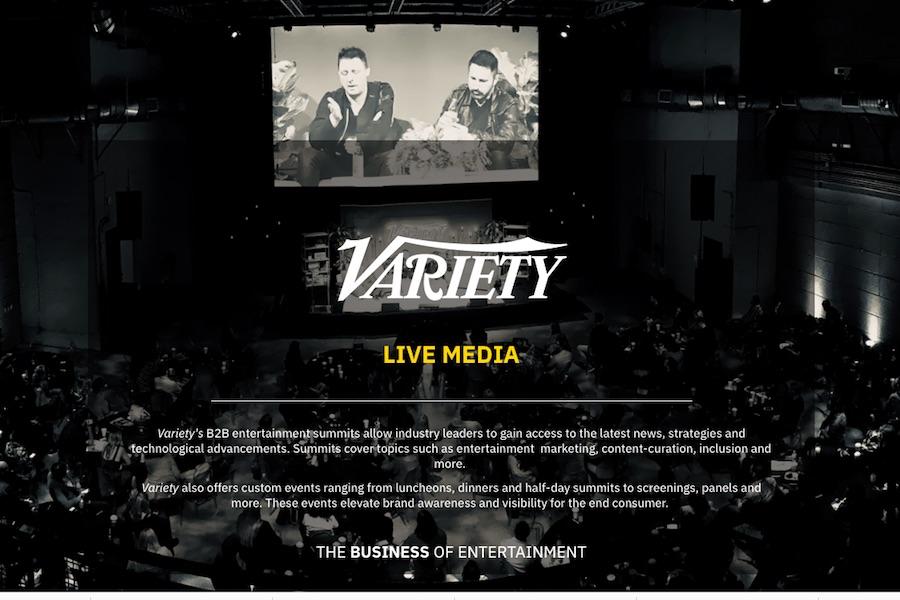 'Variety' Postpones Events