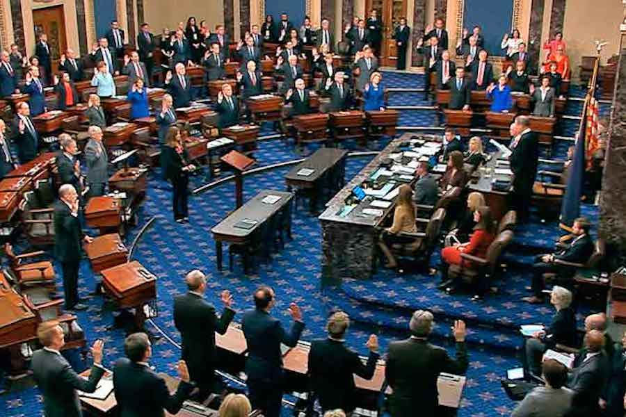 U.S. Senate, White House Reach Historic $2 Trillion Stimulus Agreement