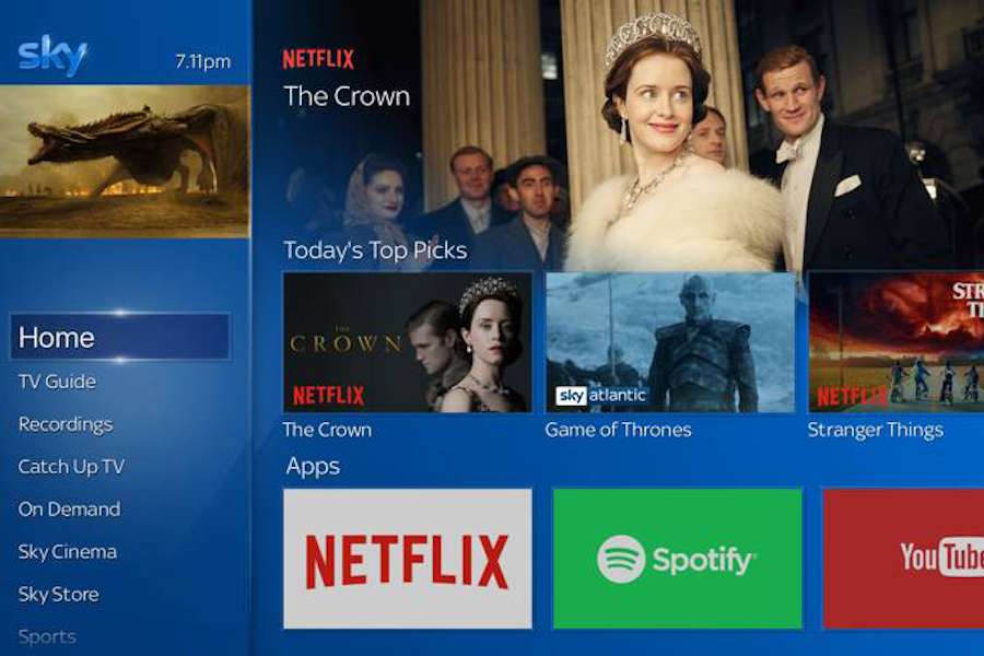 Sky Bows 'Ultimate TV' With Netflix