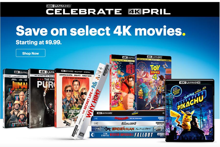 Merchandising: Best Buy Celebrates '4Kpril'