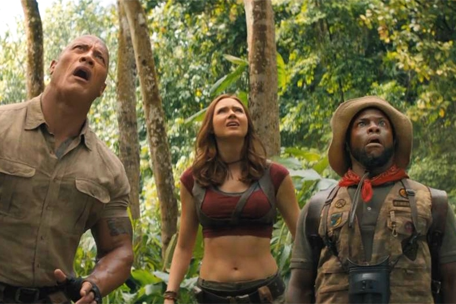 'Jumanji: The Next Level' Returns to No. 1 on Redbox Rental Chart