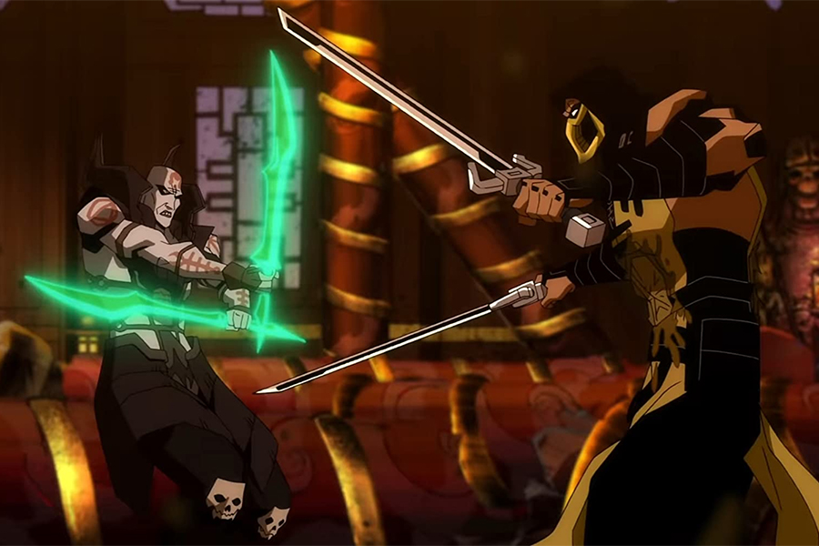 Mortal Kombat Legends Scorpion S Revenge Media Play News