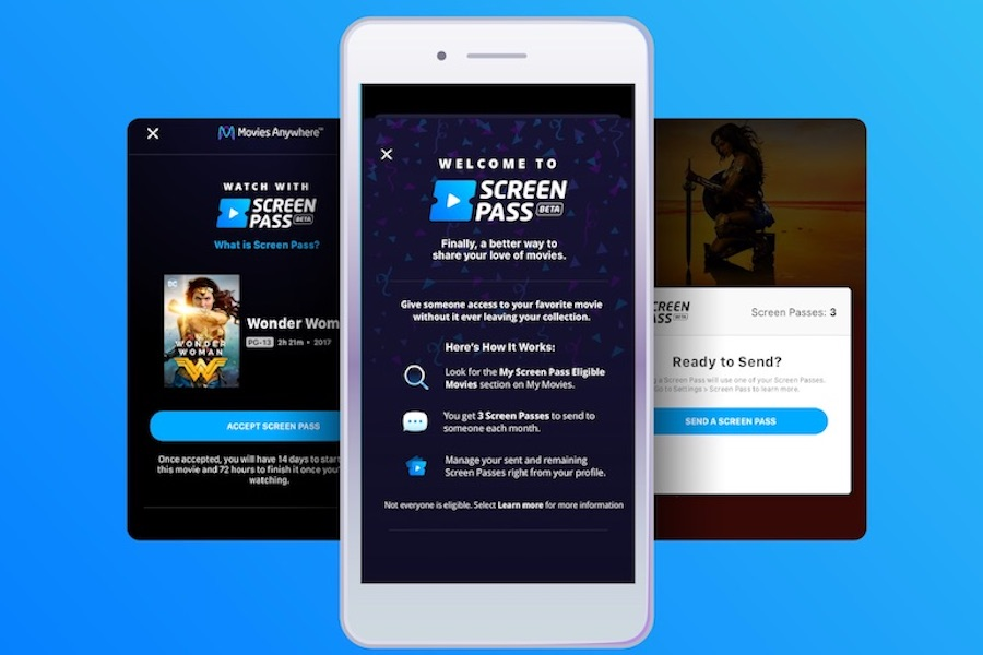 Movies Anywhere Screen Pass Sharing Feature Launched to More Users in Open Beta