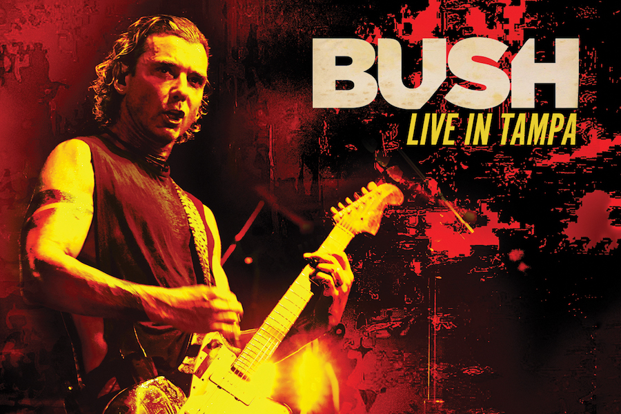 'Bush: Live in Tampa' Due April 24 in Blu-ray-DVD-CD Combo Pack From MVD