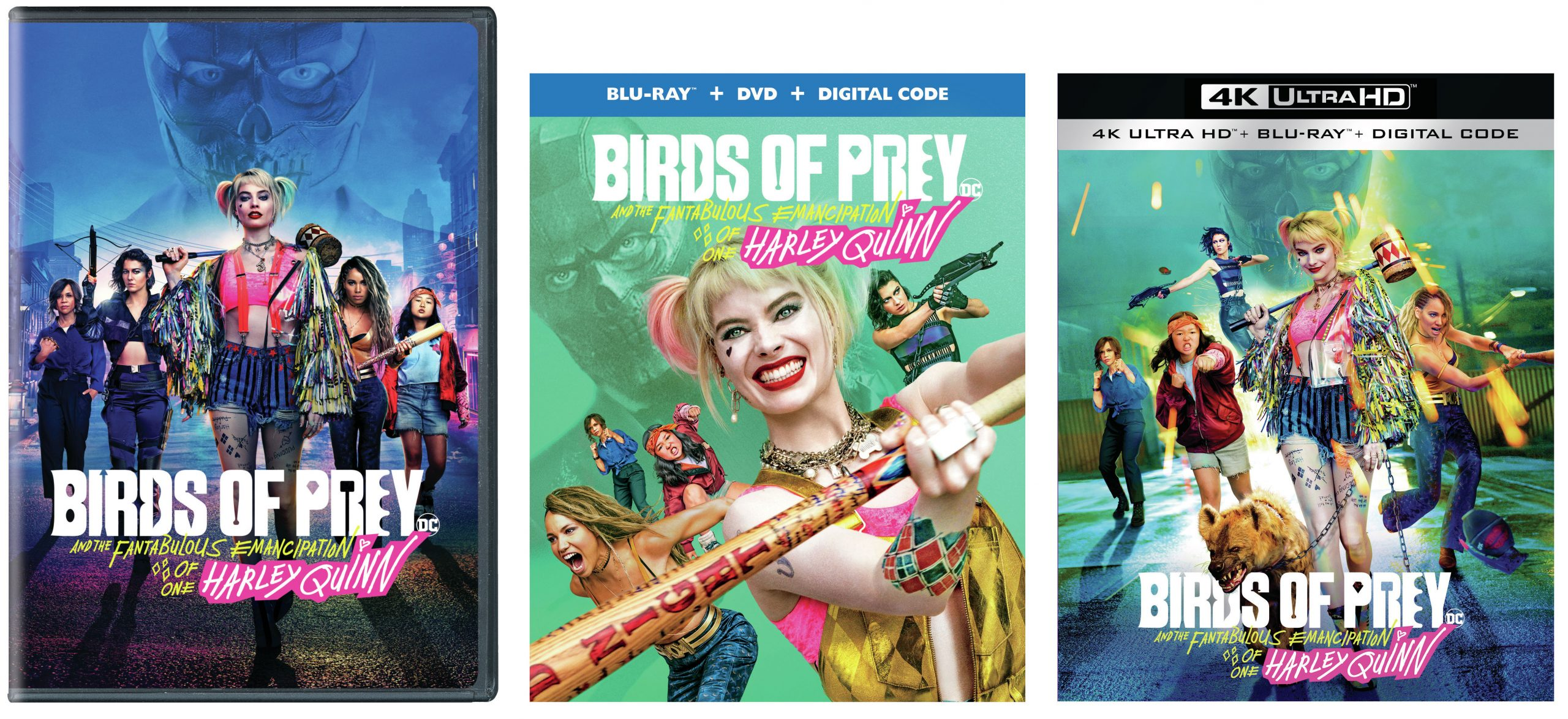 Birds Of Prey Covers Media Play News