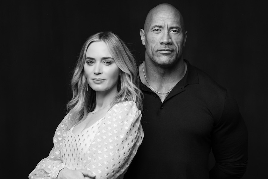 Dwayne Johnson and Emily Blunt to Star in Feature 'Ball and Chain' for Netflix