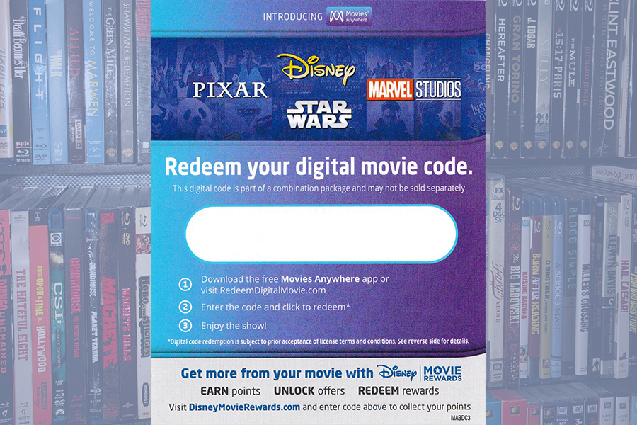 Disney Updates Terms of Use, Including Digital Movie Codes
