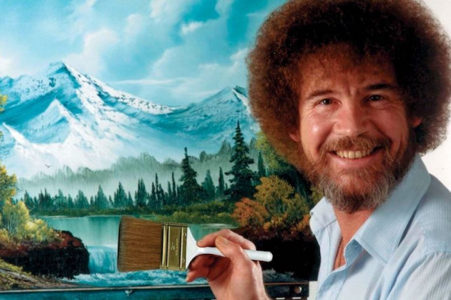 Cinedigm's 'The Bob Ross Channel' Streaming on Sinclair's STIRR