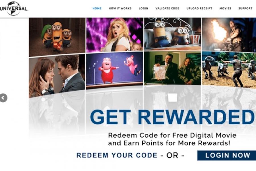 Universal Revamping Home Entertainment Rewards Program