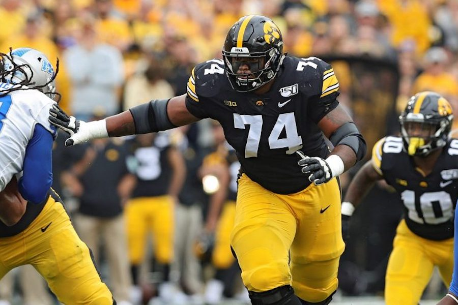 University of Iowa Football Players Ask Fans to Respect Peaceful Protest or Don't Support the Team