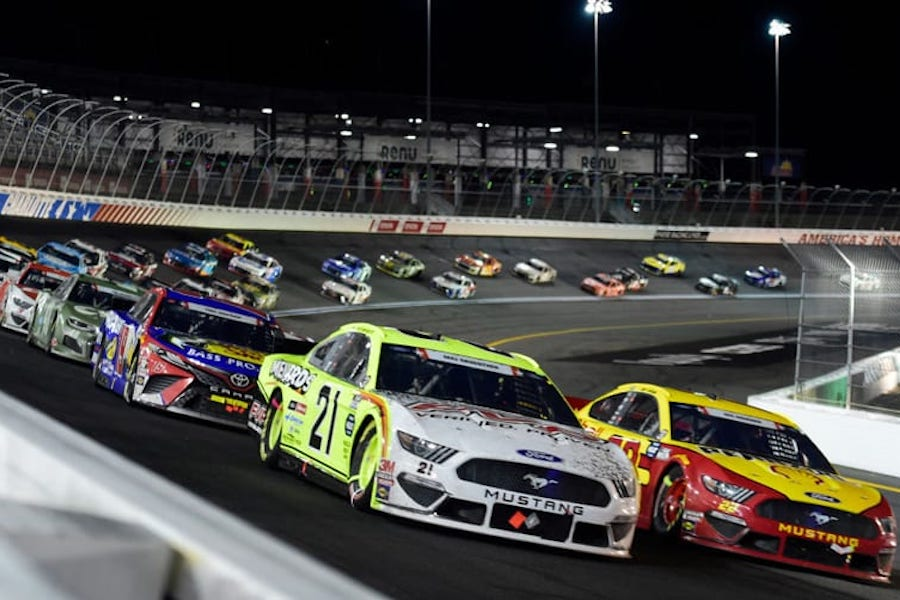 NASCAR Partners With Facebook for New Interactive Fan App