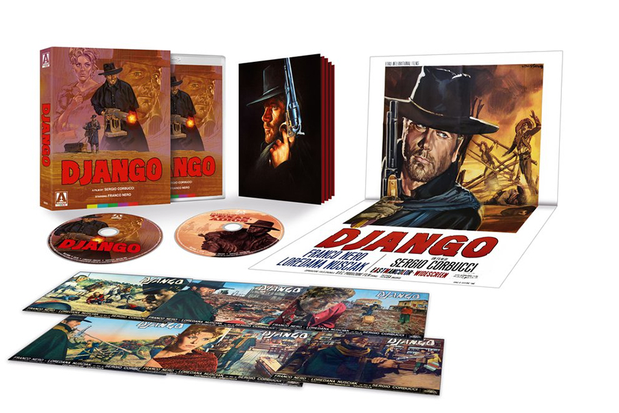 MVD and Arrow Video June Slate Includes 1960s Western 'Django'