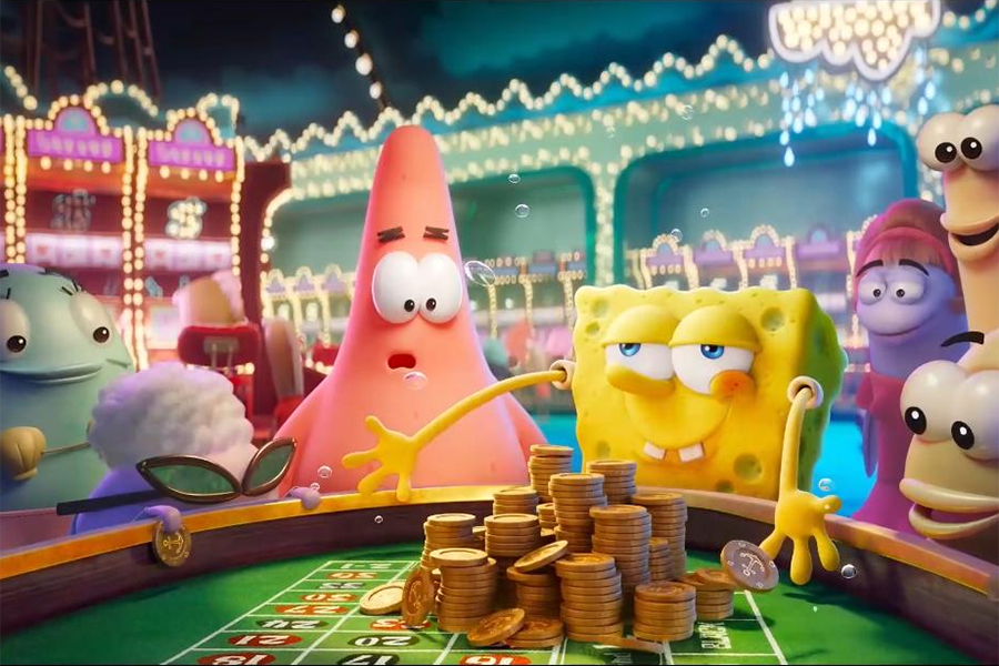 'SpongeBob Movie' Again Tops Vudu, FandangoNow Charts