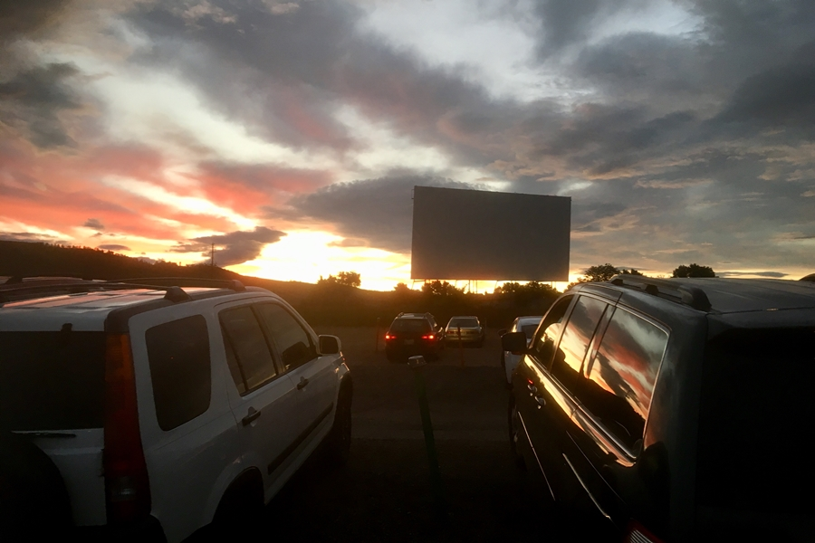 Walmart Converting Parking Lots into Movie Drive-Ins