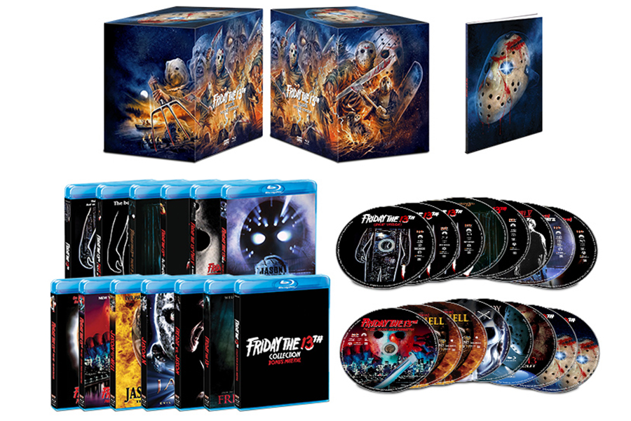 Scream Factory Presents 'Friday the 13th' Blu-ray Boxed Set Oct. 13