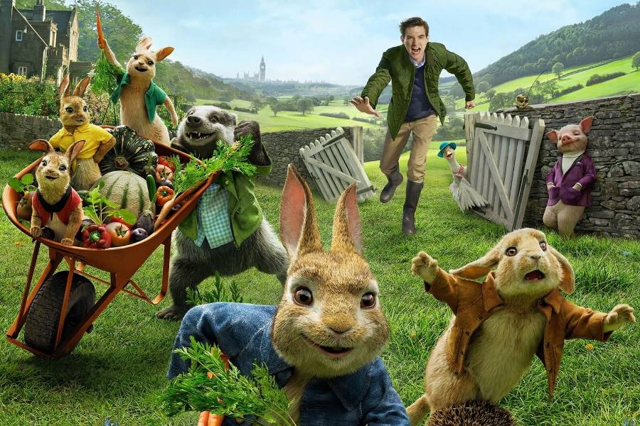 'Peter Rabbit 2' Atop U.K. Home Entertainment Chart For Second Week