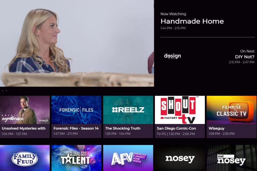 Redbox Live TV Expands to 60 Channels; Adds Cheddar and Tastemade, Among Others