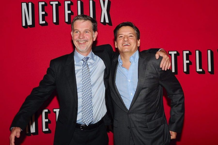 Netflix Names Ted Sarandos Co-CEO; Hits Another Fiscal Home Run, Adding Record 10M Subs, Revenue Up 25%