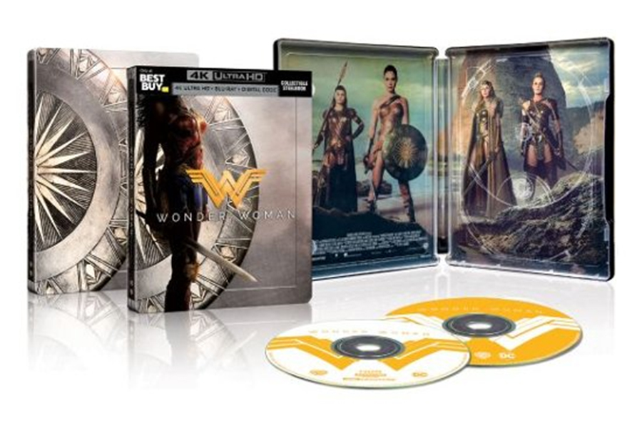 Merchandising: Best Buy Selling New 'Wonder Woman' Steelbook