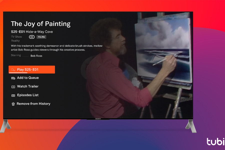 'Joy of Painting' Coming to AVOD Service Tubi Via Cinedigm's Docurama Channel