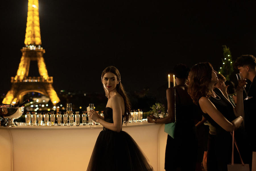 Netflix's 'Emily in Paris' Tops TV Time Charts