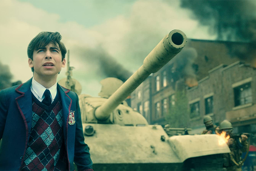 'Umbrella Academy' Remains No. 1 on Parrot's TV Charts