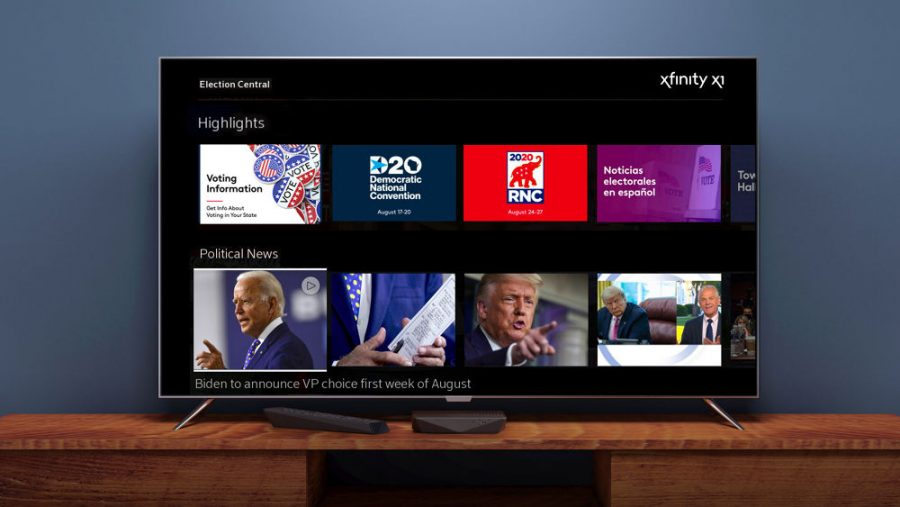 Comcast Launches Interactive Bilingual Election News Platform on X1 and Flex