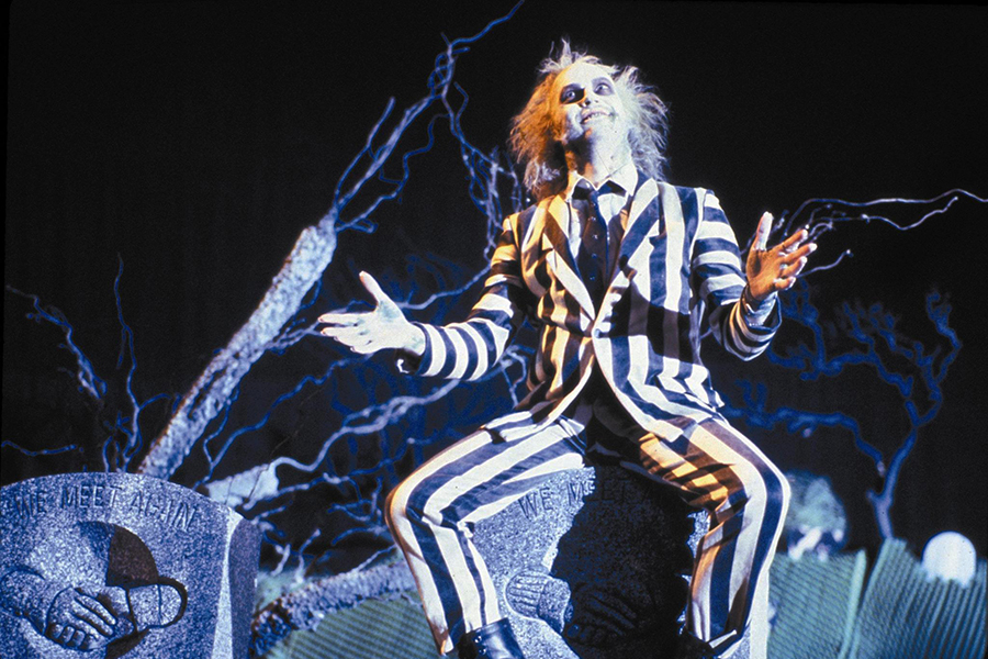 4K Re-release Pushes 'Beetlejuice' to Top of Disc Sales Charts