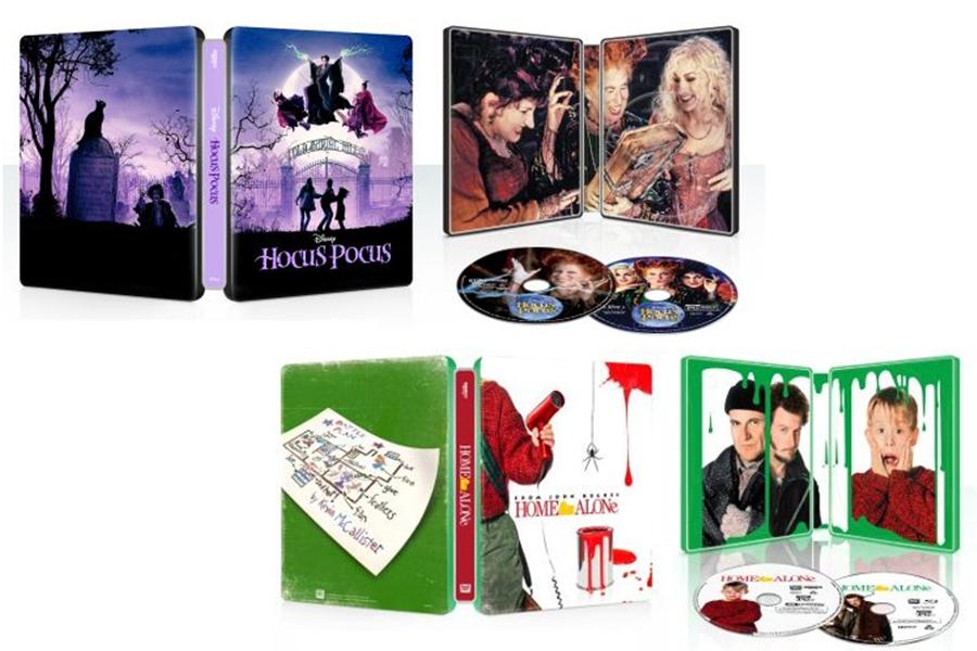 Merchandising: Best Buy Brings Out Several 4K Steelbooks
