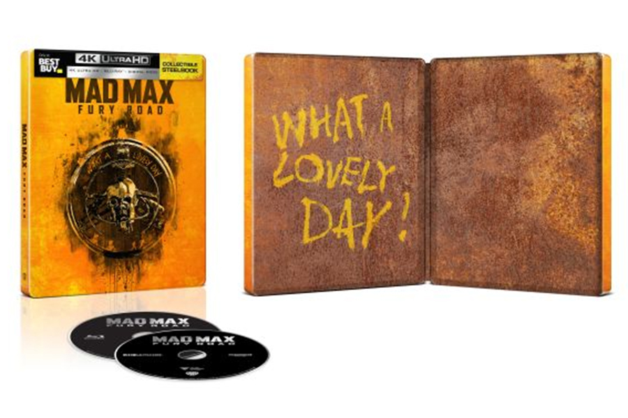 Merchandising: Walmart Offers 'Wonder Woman' Gift Set; New Best Buy Steelbooks Include 'Fury Road'