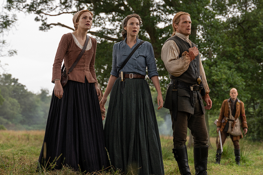 Disc Sales Charts Led by Season 5 of 'Outlander'