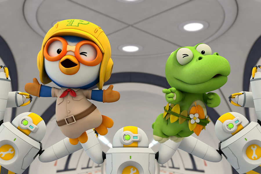'Little Penguin Pororo's Dinosaur Island Adventure' Due Dec. 8