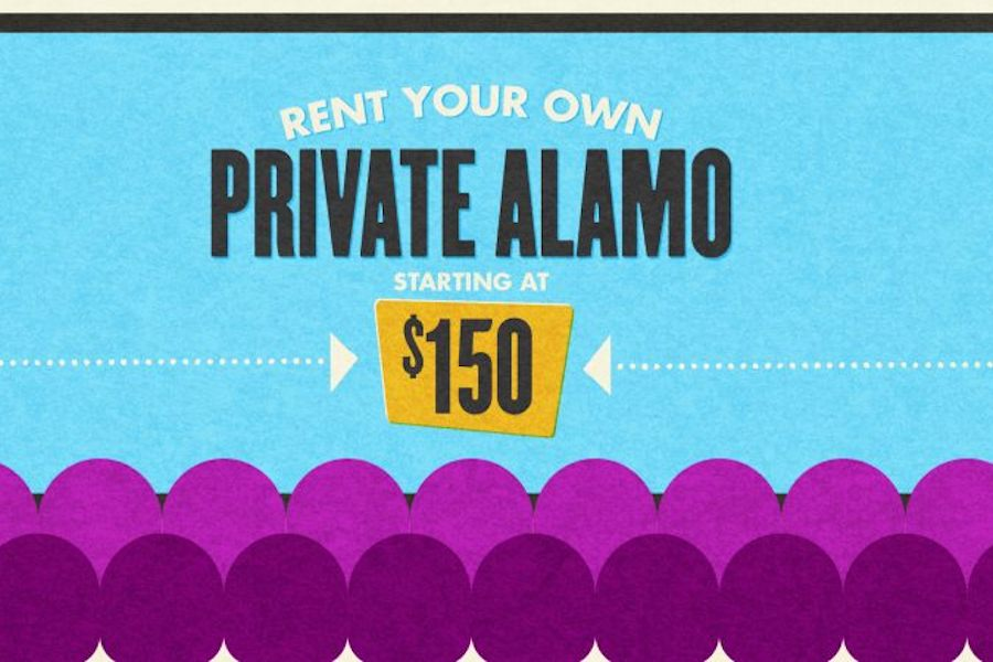 Alamo Drafthouse Renting Entire Theaters for $150