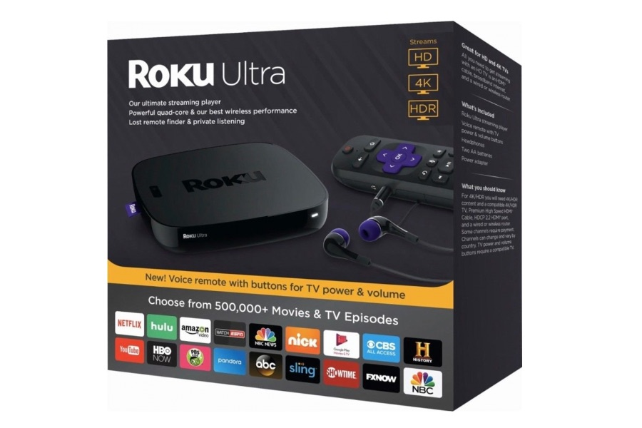 Roku Offering Free 90-Day Access to Apple TV+; Introduces New Ultra Media Player, Branded Sound Bar, Operating System