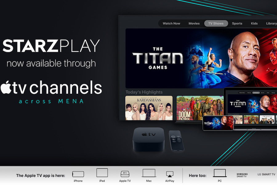 Starzplay Available Through Apple TV in Middle East, North Africa