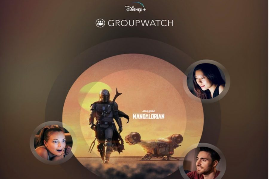 Disney+ Adding 'GroupWatch' Feature in Social Media Push