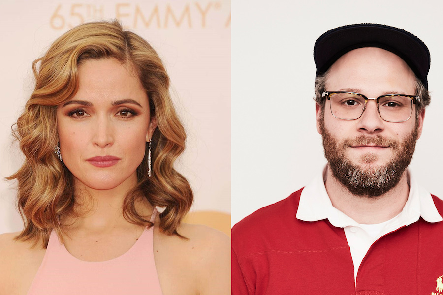 Rose Byrne, Seth Rogen to Star in Comedy Series for Apple TV+