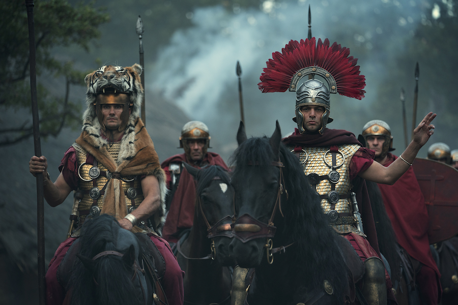 Netflix's 'Barbarians,' 'Emily in Paris' Top TV Time Charts