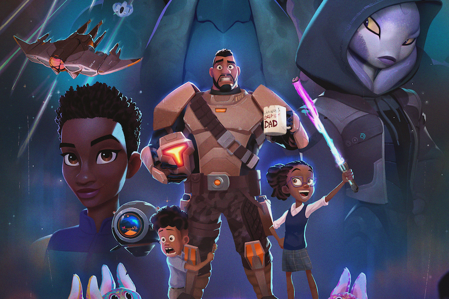 Netflix Announces New CG-Animated Series 'My Dad the Bounty Hunter'