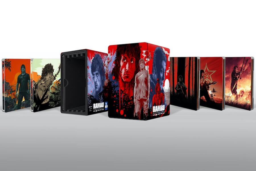 Lionsgate Taps Top Artists for 'Rambo' SteelBooks