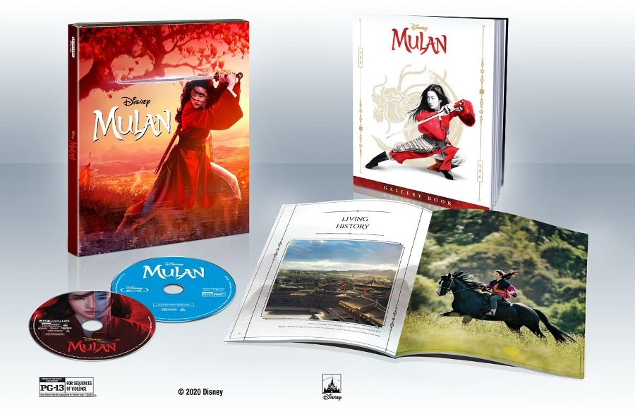 Live-Action and Animated 'Mulan' Headed for 4K Ultra HD Blu-ray Release Nov. 10