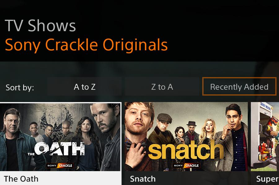 AVOD Crackle Bows on Comcast's Xfinity X1 and Xfinity Flex